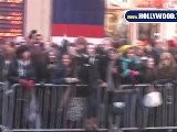 EXCLUSIVE: Fans Screaming For Justin Bieber Outside Of A Special Screening Of Never Say Never