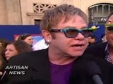 ELTON JOHN TALKS LADY GAGA, NEW SONGS, FOR GNOMEO AND JULIET