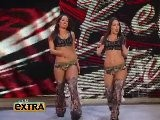 Eve Torres & Beth Phoenix Plus Alicia Fox & The Bella Twins On Extra