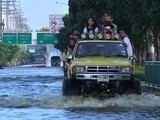 Floods Hinder Life In Thai Capital
