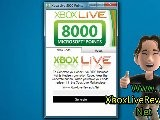 Free Xbox Live 8000 Microsoft Points 8000 MS Points Hacked - Tutorial