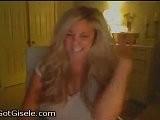 Gisele Does Karaoke
