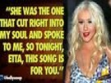 Christina Aguilera Pays Tribute To Etta James