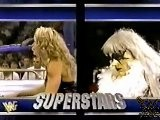 Goldust Taunts Sable & Marc Mero - Superstars - 8 17 96
