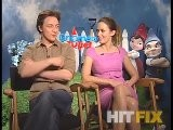 Gnomeo And Juliet -James McAvoy And Emily Blunt