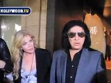 Gene Simmons And His Family Go To Katsuya For Dinner