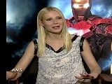 GWYNETH PALTROW HOLDS TONY STARK TOGETHER FOR IRON MAN 2