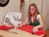 How To Turn A Long Boy&#039 S Shirt Into A Dress