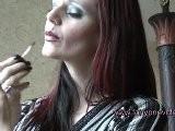 Hypnotist Hanna IV - Lipstick Scene