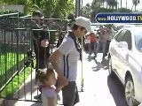 Halle Berry Picks Up Daughter Nahla Ariela Aubry From School