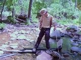 Hiking Sedona Trails - Walking On Logs Video