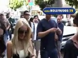 Heidi Montag Shops On Robertson Friday Afternoon