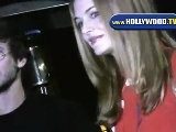 Heather Graham Waits For Her Car At Koi