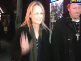 Helen Hunt Exits Coronet Theater With Date
