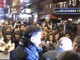 Hugh Jackman Greets Fans At Broadhurst Theatre