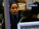 Halle Berry And Baby Go To LAX