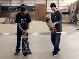 How To Skateboard With Bam Margera: Advanced Tricks Backside Flip