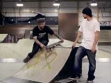 How To Skateboard With Bam Margera: Ramp Tricks Navigating Skateboard Ramps