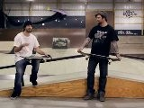 How To Skateboard With Bam Margera: Easy Tricks Noseslide