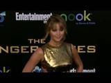 Hunger Games Red Carpet Fashions: Jennifer Lawrence Sexy Dress