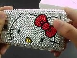 Hello Kitty Rhinestone Case For Samsung Galaxy S2 I9100
