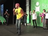 Hulk Hogan Takes The Stage At A Body By Vi Challenge Event