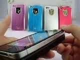IPhone 4S Aluminium Metal Case With Panda Style