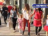 Isla Fisher Visits The Grove