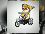 In Step Grand Safari Swivel Wheel Single Jogging Stroller