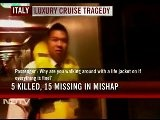 Italy Cruise Disaster: 201 Indians Saved , 1 Missing