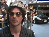Ian Somerhalder Leaves CNN