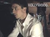 Ian Somerhalder With Friends At Chateau Marmont
