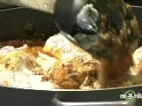 Indian Recipes - Adding The Chicken To The Masala
