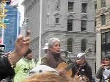 Joan Baez Sings At Occupy Wall Street