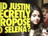 Justin Bieber Secretly Proposed To Selena Gomez?