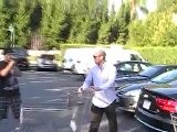 Jason Statham Gets Aggressive On Shopping Trip