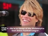 Jon Bon Jovi - Top 10 Fun Facts