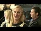 Joely Richardson On Dragon Tattoo Red Carpet