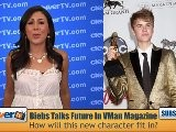 Justin Bieber Candid About Adulthood As VMan Cover Model