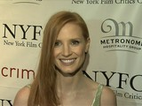 Jessica Chastain Talks NYFCC Noms