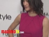 Julia Jones Forevermark And InStyle Golden Globes 2012 Event EXCLUSIVE