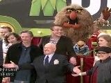 JASON SEGEL, AMY ADAMS, MISS PIGGY PREMIERE THE MUPPETS