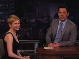 Jimmy Kimmel Live Michelle Williams, Part 3