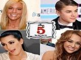 Justin Bieber&#039 S Most-Searched Status, Kate Gosselin&#039 S Facelift Denial And Miley Cyrus&#039 Joke - IVillage 5