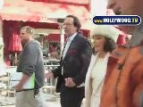 Joan Collins Decorates The Grove With Her Smile