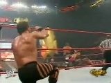Jericho And Chris Benoit Vs HHH And Batista - RAW 12.13.2004