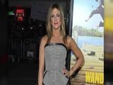 Jennifer Aniston Poses Separately From Justin Theroux At Wanderlust Premiere
