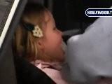Jennifer Garner Picks Up Daughter Violet From Pre School