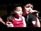 Justin Bieber Sings With Fans