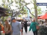 Joel McHale, Yvette Nicole Brown And Antonio Banderas Shop At The Grove
